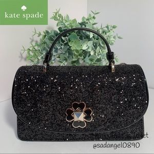 🍁KATE SPADE ODETTE GLITTER CROSSBODY BAG